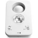 Amplificateur et avertisseur sonore et lumineux pour malentendants