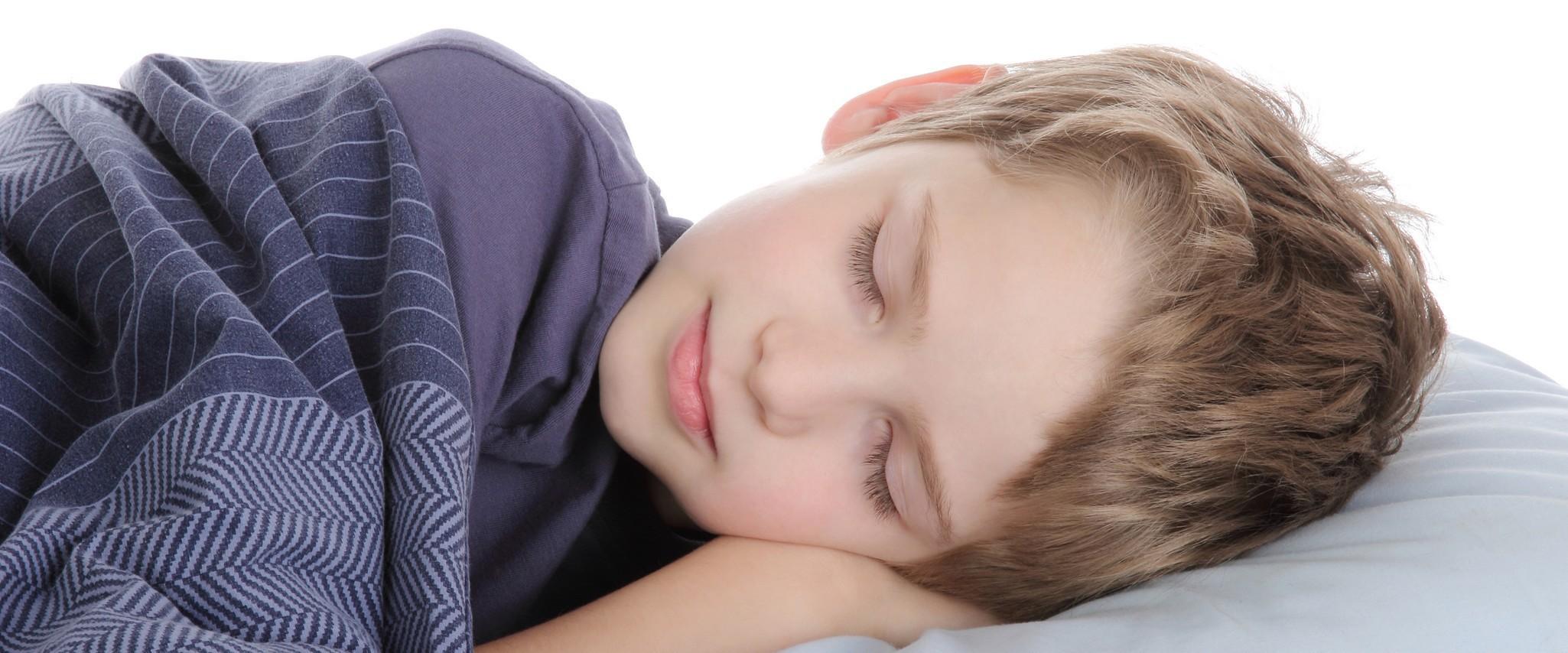 Seien Sie beruhigt während er/sie schläft